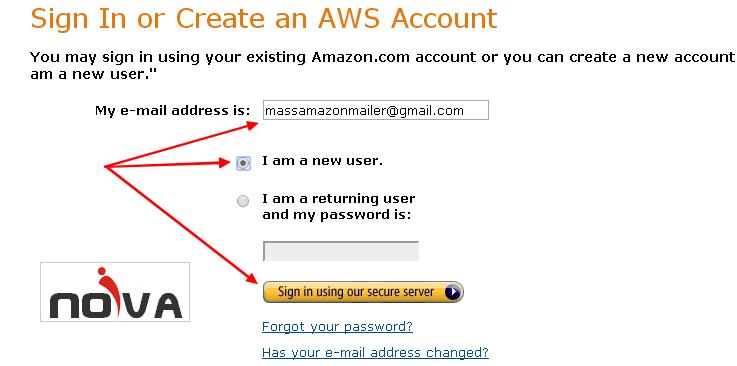 Hướng dẫn đăng ký và kích hoạt Amazon SES SMTP