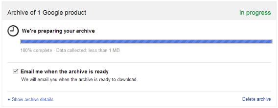 Preparing MBOX Gmail