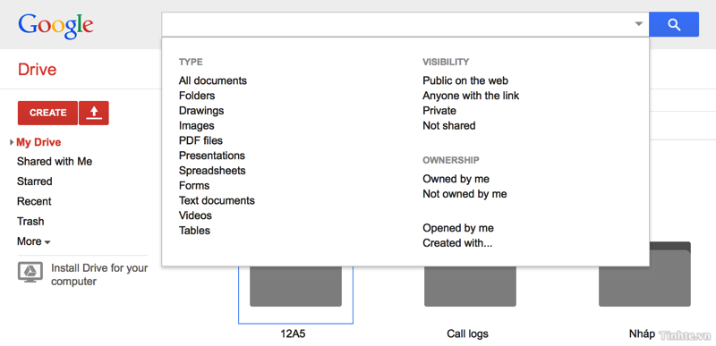 Thủ Thuật Google Drive