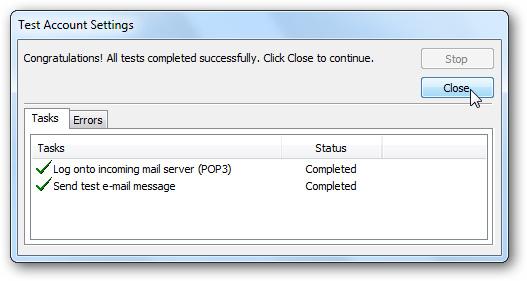 Cấu hình tài khoản Gmail vào Outlook 2010 | Việt Nis Blog