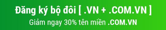 [Việt Nis] Chương trình khuyến mãi tên miền 06/2015
